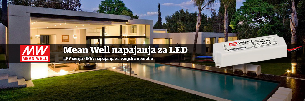 Meanwell vanjsla LED napajanja